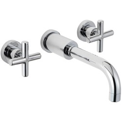 Contour 3 Hole Wall mixer