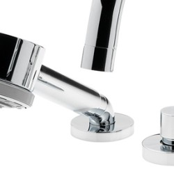 Contour 5 Hole Bath Shower Mixer