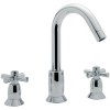Faro 3 Hole Basin Mixer