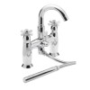 Faro Pillar Bath Shower Mixer